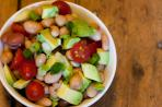 Three Bean and Avocado Salad