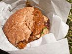 Worlds Best Satay Tofu Burgers – Marrickville Markets